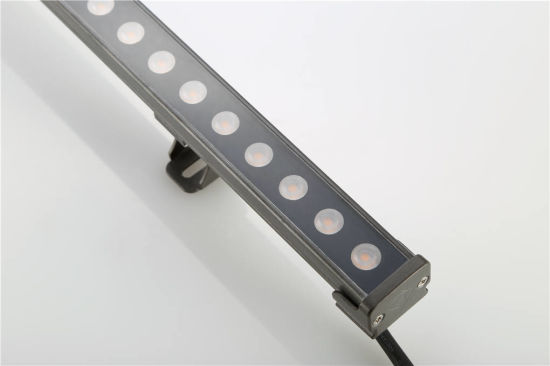 Warm White Thick Aluminum Housing Wall Washer IP65 DMX Controller LED Strip Lamp