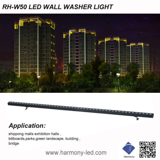12W High Power RGB Outdoor Project LED Wall Washer Light